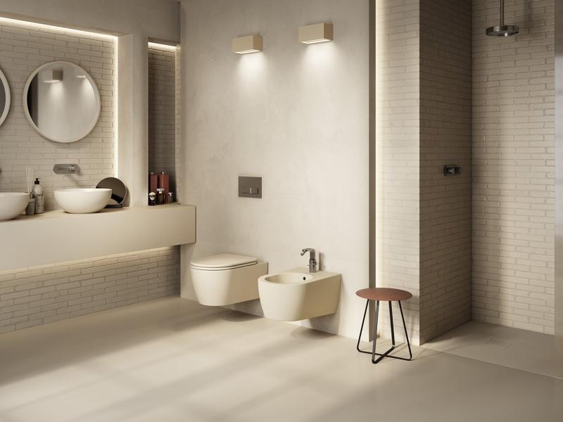 Vasca Da Bagno Hatria : Sanitari del bagno come scegliere water bidet e lavabo allecta
